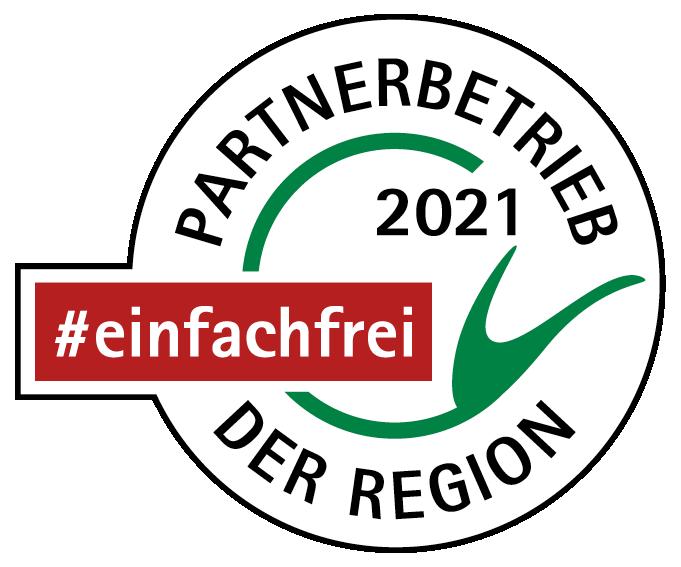Partnerbetrieb der Region Siegel
